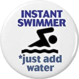Cheap Instant Swimmer – just add water 2.25″ Bottle Opener w/ Keyring Swimming Team Sports Funny Humor