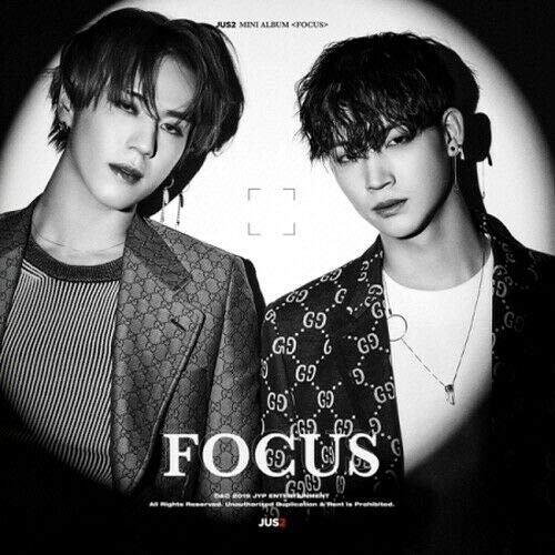 - GOT7 Unit JUS2 - [Focus] Mini Album Random CD+1p Lyrics Poster/On+84p PhotoBook+2p PhotoCard+1p Unit PhotoCard+Accordion Book+Tracking K-POP Sealed