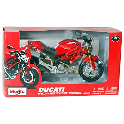 Maisto 1/12 Ducati Monster 696: Toys & Games
