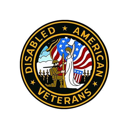 - Magnet DAV American Disabled Veterans Seal Magnetic Vinyl Army Navy air Force Marines Car Magnet Bumper Sticker