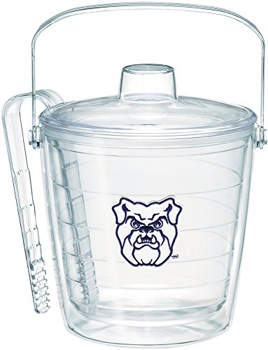 (Tervis 1268946 Butler Bulldogs Logo Insulated Ice Bucket and Tongs with Emblem and Clear Lid-Boxed, 87oz)
