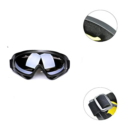 schutb rainure, bfeem protuve Lunettes style classique Lunettes de sécurité  protection des yeux pour NERF 25733437e345