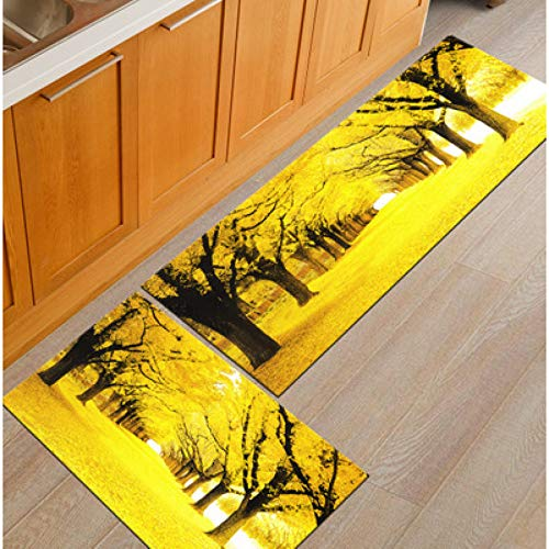 GSYDDTG 3D Cobble Stone Piano Welcome Doormat Non-Slip Kitchen Carpet Bathroom Bathmat Bedroom Area Rug Floor Mats