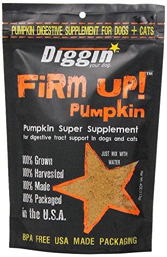Diggin Your Dog gReDFn Firm Up Pumpkin Supplement, Vegetable, 9.5H X 6.5W X 2.5D (Pack of 3)