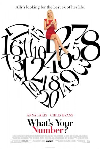 WHAT'S YOUR NUMBER? MOVIE POSTER 2 Sided ORIGINAL 27x40 ANNA FARIS