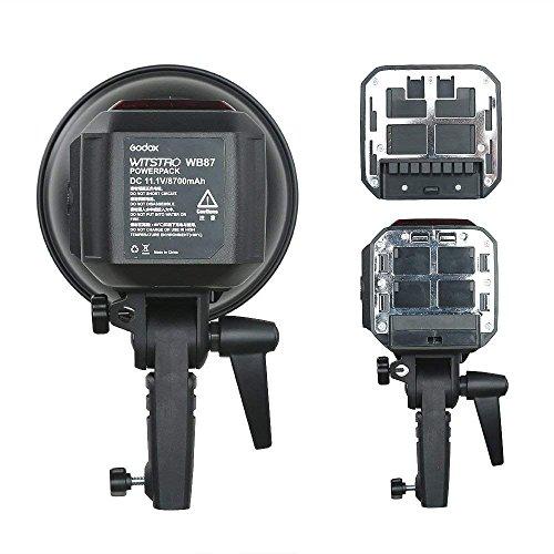 GODOX AD600BM 600Ws GN87 HSS AD sync 1 / 8000s 2.4G Wireless Flash Light Speedlite,80 X 80 cm Flash Softbox,Standard Reflector,AD-R6 Flash Diffuser,Monolights Kits by Godox (Image #6)