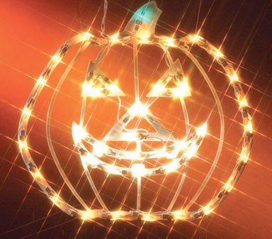 Outdoor Lighted Jack O Lanterns in US - 7