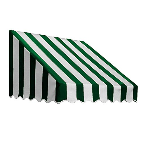 UPC 731478711494, Awntech 3-Feet San Francisco Window/Entry Awning, 56 by 36-Inch, Forest Green/White