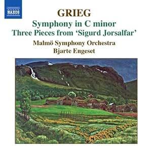 Grieg Symphony in C Minor (Three Pieces from Sigurd Jorsalfar)