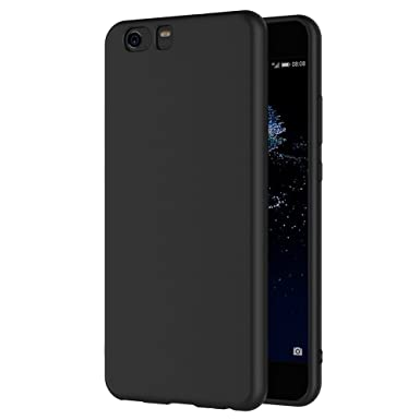 buy popular 2f5b8 d415f Xiaomi Mi5 Case, AICEK Black Silicone Cover for Xiaomi Mi5 Black Case