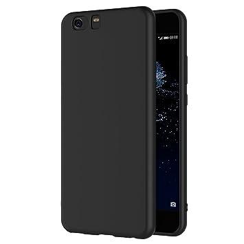 AICEK Funda Xiaomi Mi5, Negro Silicona Fundas para Xiaomi Mi 5 Carcasa Negro Silicona Funda Case