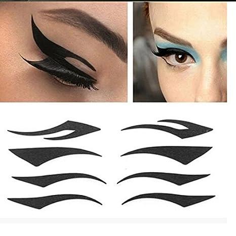 4 Pairs Temporary Eyeliner Tattoo Sexy Eyeshadow Eyelid For Women (1)