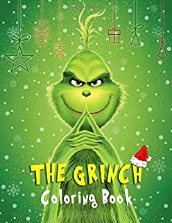 The Grinch Coloring Book Super Coloring Book For Kids And Fans 70 Giant Pages To Coloring 35 High Quality Images Arantes Edson 9798654499516 Amazon Com Books