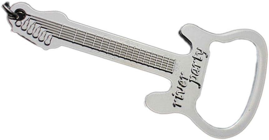legierung wein und bier küche schlüsselanhänger flaschenöffner gitarre zink