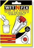 WETNFIX Lot de 20disques de fixation rapide pour cheville: plus besoin de reboucher ou de repercer les trous de vos murs!