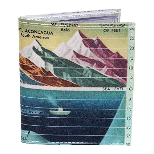 - Sea Mountain Bi-Fold Photo Wallet