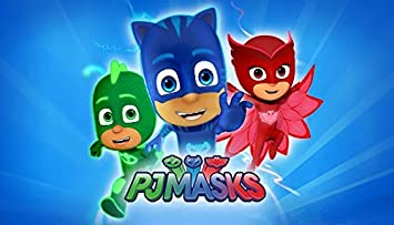 Image Unavailable Not Available For Color PJ MASKS Birthday Party Edible Frosting 1 2 Sheet Cake Topper