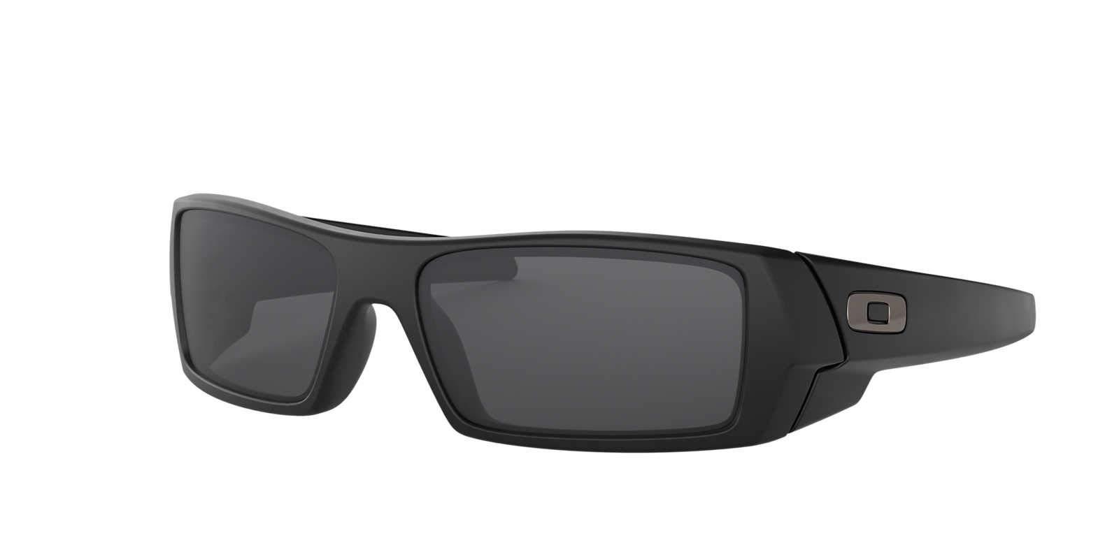 1b590198b4 Oakley Mens Gascan Sunglasses (OO9014) Black Matte Grey Plastic - Non- Polarized - 60mm