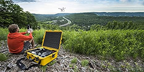 // Advanced /& Phantom 3-945-DJI44 Yellow Pro+ Advanced+ Nanuk DJI Drone Waterproof Hard Case with Custom Foam Insert for DJI Phantom 4// Phantom 4 Pro
