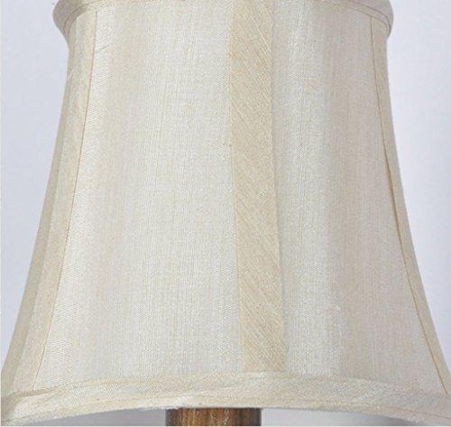 Wandmontiert Land Wandleuchte E27 Wohnzimmer Lampe Hintergrund Wandleuchte Vintage Eisen Lampe Stoff Schatten