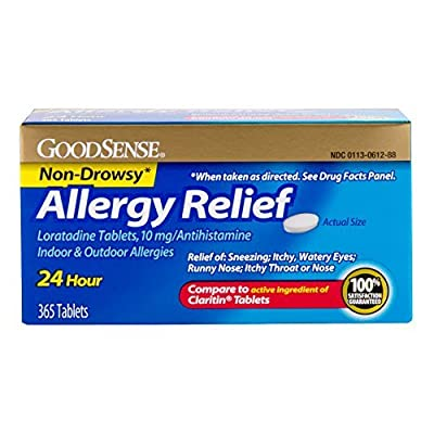 GoodSense Allergy Relief Loratadine Tablets, 10 mg
