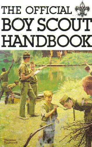 (The Official Boy Scout Handbook - (Norman Rockwell Cover))