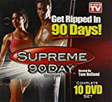 Get Ripped In 90 Days: Supreme 90Day System (Complete 10 DVD Set) As Seen on TV