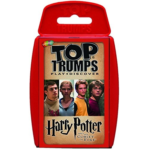 Harry Potter Card Games (Harry Potter And The Goblet Of Fire Top Trumps Card Game | Educational Card Games)