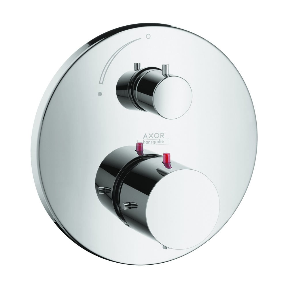 AXOR 10700001 Starck Thermostatic Trim with Volume Control, Chrome by AXOR