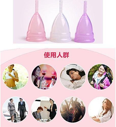 DecentGadget® Model L Reutilizable copa menstrual de silicona ...