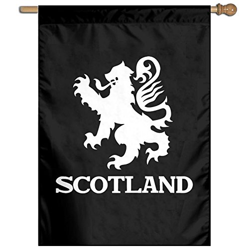 (Lion Rampant Scotland Scottish Garden Flag 27 X 37 Inch Size Banner For House Decorative)