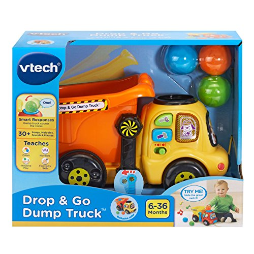 VTech Drop and Go Dump Truck Amazon Exclusive by VTech (Image #6)