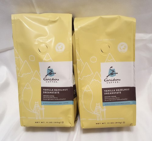 Caribou Coffee Flavored Vanilla Hazelnut Dreamstate Coffee 2 Pack
