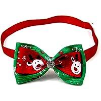 Scrox 1x Navidad Decoracion Mascotas Collar Perro Adornos
