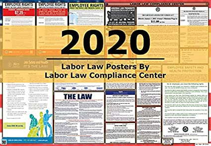 Louisiana//Federal Combination Labor Law Posters New !