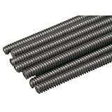 Great Planes All Thread Rod (Set of 12), 4-40x12-Inch