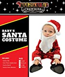 Spooktacular Creations Deluxe Baby Santa Costume Set