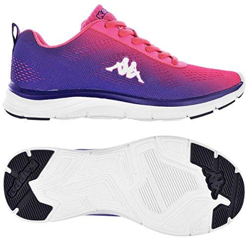 Zapatos de Deporte - Kappa4training Cambus Violet Dk-Pink Fluo