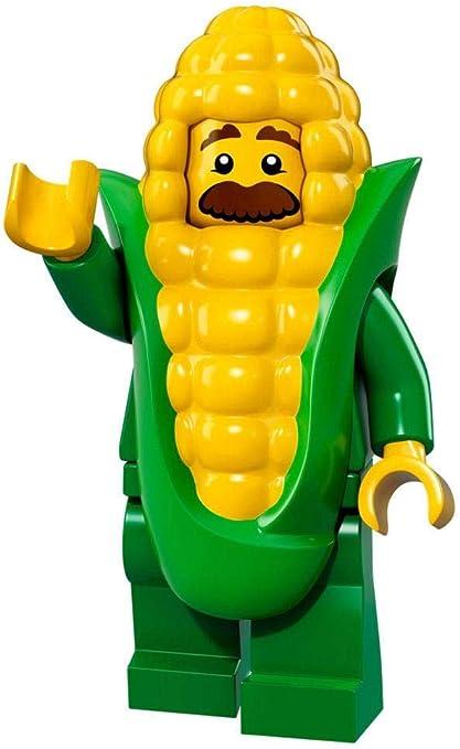 LEGO NEW SERIES 17 CORN COB GUY MINIFIG MINIFIGURE 71018