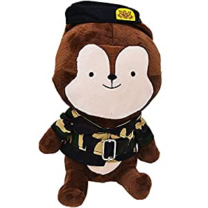 Stuffed Animals, KAGU CULTURE - Descendants Of The Sun Cartoon Dolls Camouflage Fox Anime Toys - 15.75inches