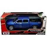 Motormax  Chevrolet Silverado  Lt Z Crew Cab Pickup Truck   Scalecast