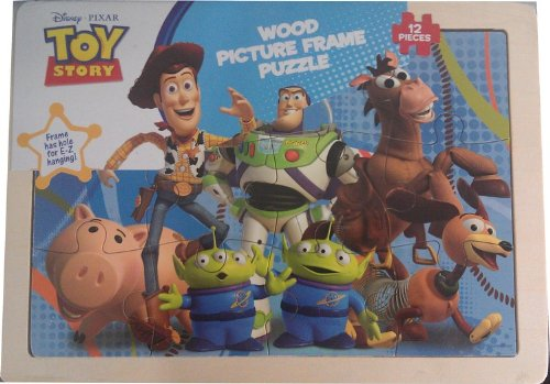 Disney Pixar Toy Story 3 Wood Picture Frame Puzzle