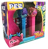 Pez Trolls Emoji Gift Set With 6 Rolls of Pez Candy (1 Pack)