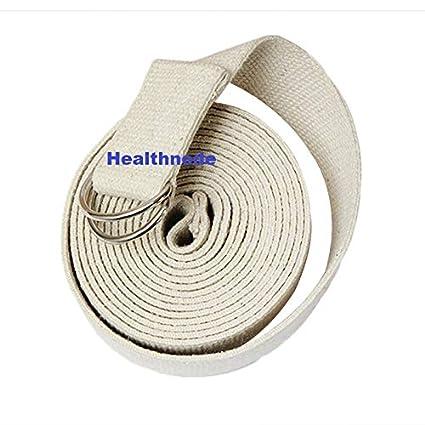 Amazon.com : healthnode Yoga Belt/Strap /10 Feet Length /1.5 ...