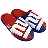 NFL New York Giants Split Color Slide Slipper, X-Large, Blue
