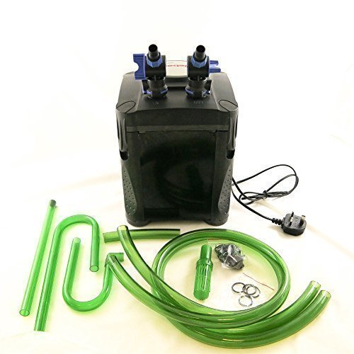 Jebao One Touch External Fish Tank Canister Aquarium Filter System 20w 1000...