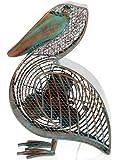 Deco Breeze DBF0366 Cast-Metal 16-1/2-Inch Pelican-Shaped Decorative Fan