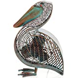 DecoBREEZE Pelican Figurine Fan Two-Speed Electric Circulating Fan