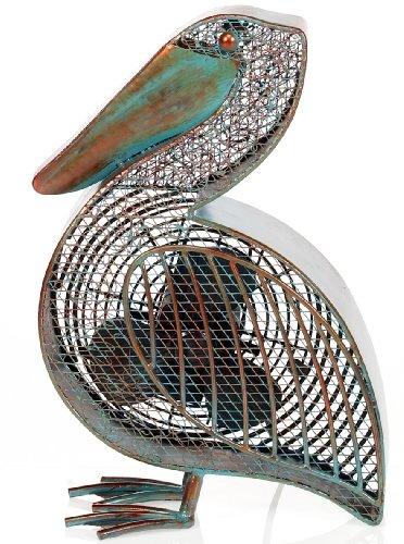 Ocean Fan - DecoBREEZE Table Fan Two Speed Electric Circulating Figurine Fan, 7 in, Pelican
