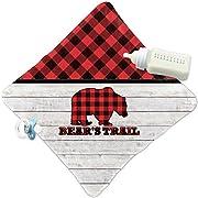 RNK Shops Lumberjack Plaid Security Blanket (Personalized)